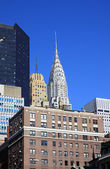 Chrysler building i new york city — Stockfoto
