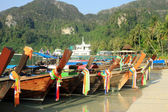 Long-boat in Thailand — Stock Photo