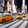 Постер, плакат: Traffic in Time Square New York