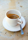 A cup of caffee — Stock Photo