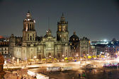 Zocao by night, Mexico City — Stock Photo