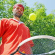 Tennis champion — Stockfoto