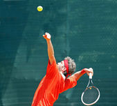Tennis champion — Fotografia Stock
