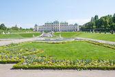 Palácio de belvedere, wien, áustria — Foto Stock