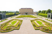 Schonbrunn Palace in Wien, Austria — Stock Photo