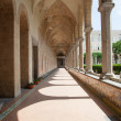 Santa Chiara Cloister, Naples, Italy — Stock Photo