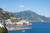 Amalfi, itálie — Stock fotografie