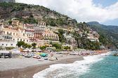 ποζιτάνο, costiera amalfitana, ιταλία — Φωτογραφία Αρχείου