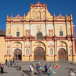 San Cristobal Cathedral, Chiapas, Mexico — Foto de Stock