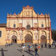 San Cristobal Cathedral, Chiapas, Mexico — Foto Stock