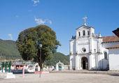 Zinacantan church, Chiapas, Mexico — Stock Photo