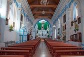 Santa-lucia-kirche in san cristobal de las casas, chiapas, mexic — Stockfoto