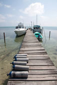 Caye Caulker, Belize — Stock Photo