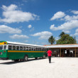 Bus station, Belize  — Stock Photo #41884461