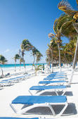 Tulum beach, Mexico — Foto de Stock