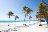 Tulum beach, Mexico — Stock fotografie