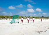 Plaj futbolu — Stok fotoğraf
