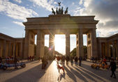 Porta di Brandeburgo, Berlino, Germania — Foto Stock
