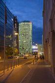 Postdamer platz, berlin, tyskland — Stockfoto