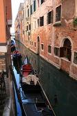 Venedik arasında yürüyor — Stok fotoğraf