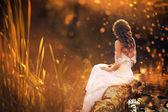 Romantisch girl — Stockfoto