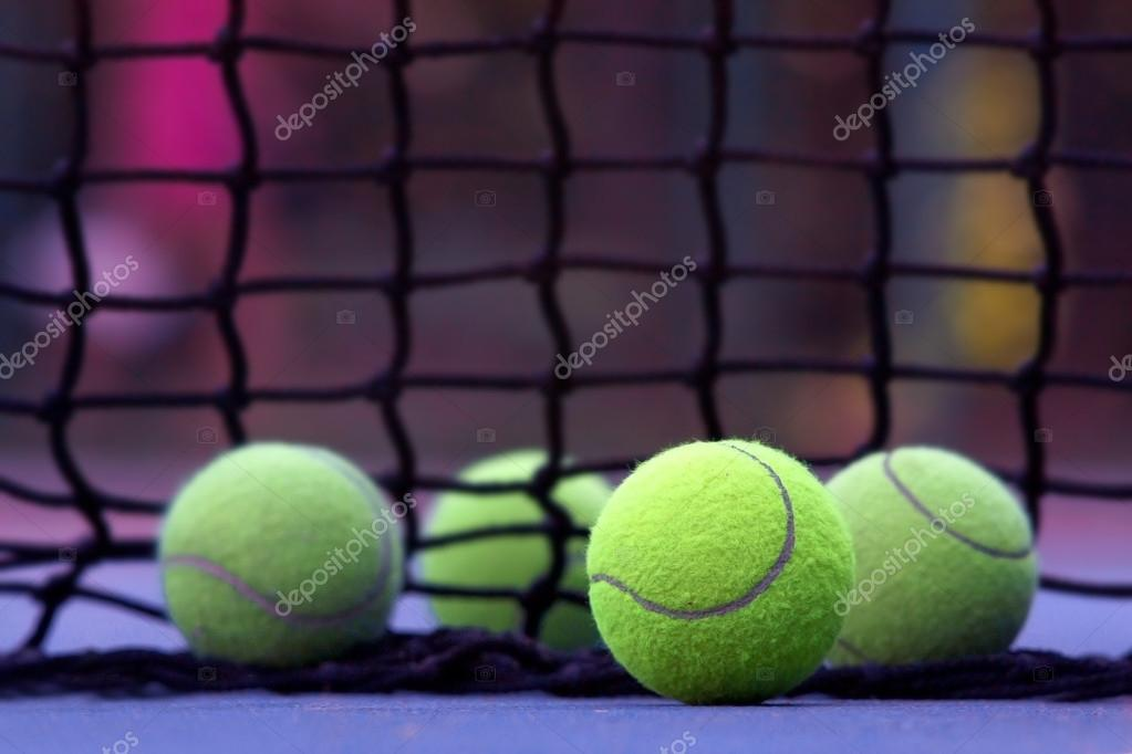 Tennis balls — Stock Photo #18370149