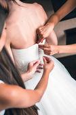 Утро, свадьба, невеста — Стоковое фото