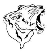 Lioness — Stock Vector