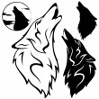 Royalty-Free Stock Vector Image: Wolf head
