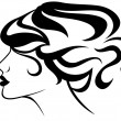 Hairstyle - Stock Vector