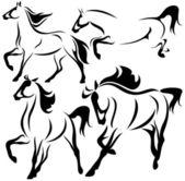 Horse design — Stock Vector