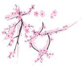 Sakura symbol — Stock Vector