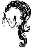 Magic horse — Stock Vector