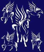 Pegasus design — Stock Vector