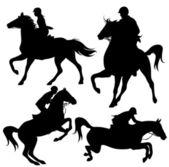 Horsemanship — Stock Vector