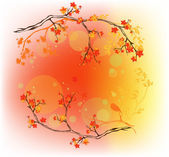 Autumn nature — Stock Vector