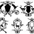 Royalty-Free Stock Imagem Vetorial: Hunting emblems