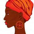African beauty — Stock Vector #24743505