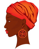 African beauty — Stock Vector