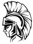 Spartan warrior — Stock Vector
