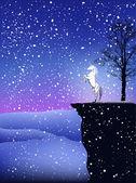 Magic winter — Stock Vector
