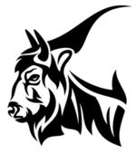 Bison — Stock Vector