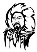 Eskimo man — Stock Vector
