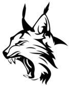 Lynx head — Stock Vector