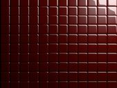 Red Tile 3D Rendered Background / Wallpaper / Texture — Stock fotografie
