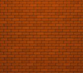 Red Brick Wall Texture / Background — Stock Photo