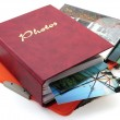 Photo albums isolated — Stock Photo