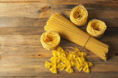 Pasta on the table — Stock Photo