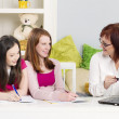 Stock Photo: Private tutoring