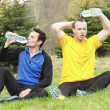 Resting after jogging — Stock Photo